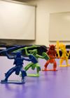Plastic Cowboys & Indians in Classroom 4043