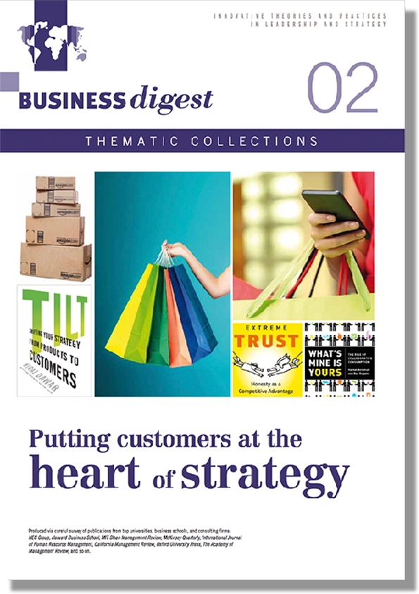Thematic Collections #02 - Putting customers at the heart of strategy