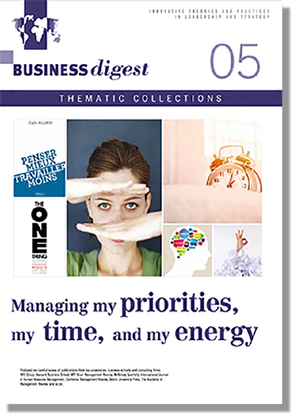 Thematic Collections #05 - Managing my priorities, my time and my energy