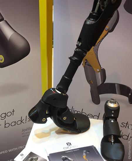 EXONEO mise sur le biomimétisme, soit l'étude du mouvement naturel de l'homme, pour concevoir ses prothèses (ici une prothèse de pied).